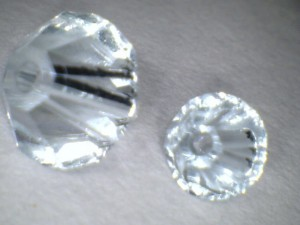 Swarovski üveggyöngy