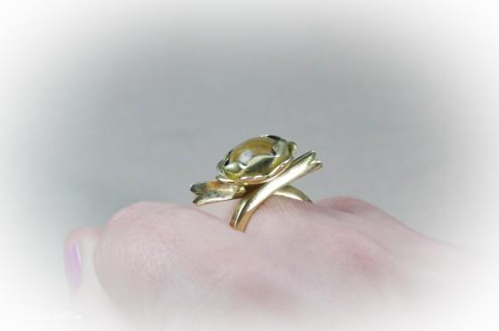 Szirmocskás gyűrű