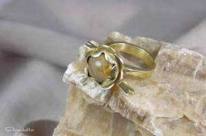 Amuletta - első gyűrű befoglalásom
