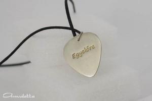 Alpakka gitárpengető nyaklánc