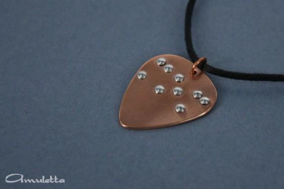 Amuletta - érintés ékszer vakoknak és látássérülteknek